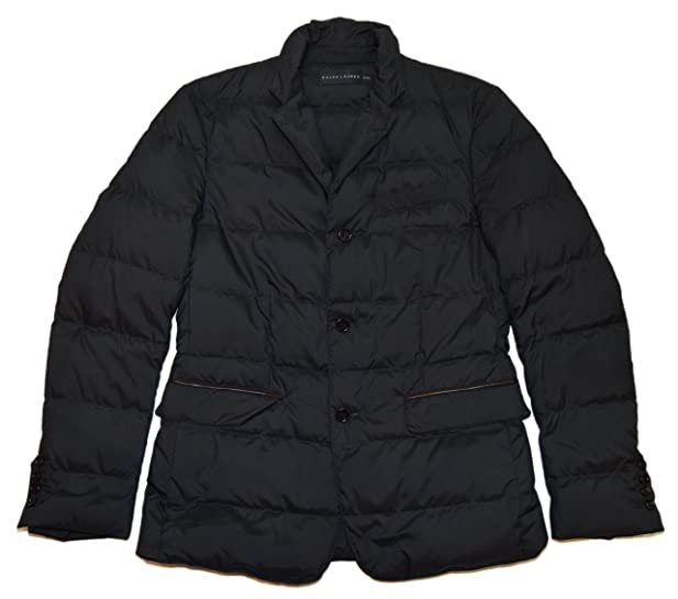 Polo Ralph Lauren Black Label Mens Quilted Down Puffer Sport Coat ...