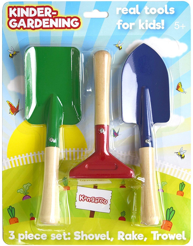 The garden tool review gardening tool reviews from a professional - Amazon Com Kangaroo S Kids Garden Tools Gardening Tools For Kids Toys Games