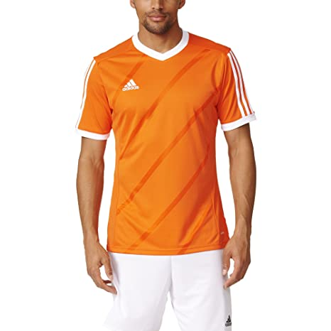 new product 1a3cb 21f4c Amazon.com   Adidas Tabela 14 Mens Soccer Jersey S Orange-White   Sports    Outdoors