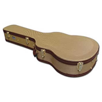 86ca4e225c Spider Tweed Dreadnought Acoustic Hard Guitar Flight Case: Amazon.co ...