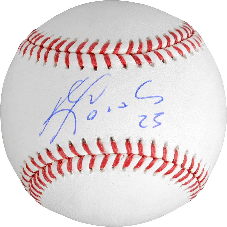 Kendrys Morales Kansas City Royals Autographed Baseball - Fanatics Authentic Certified - Autographed Baseballs