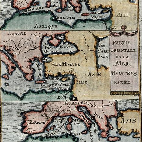 Amazon.com: Mediterranean Sea Europe Turkey Africa water ...