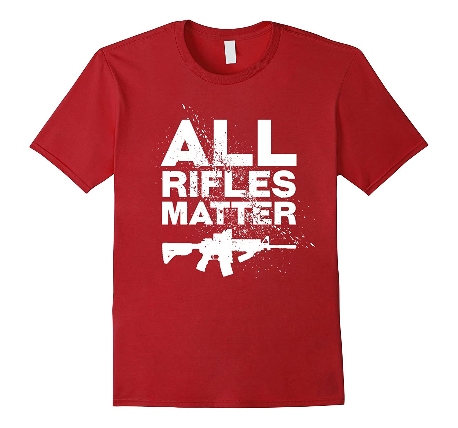 ALL RIFLES MATTER - MENS T-SHIRT-CL