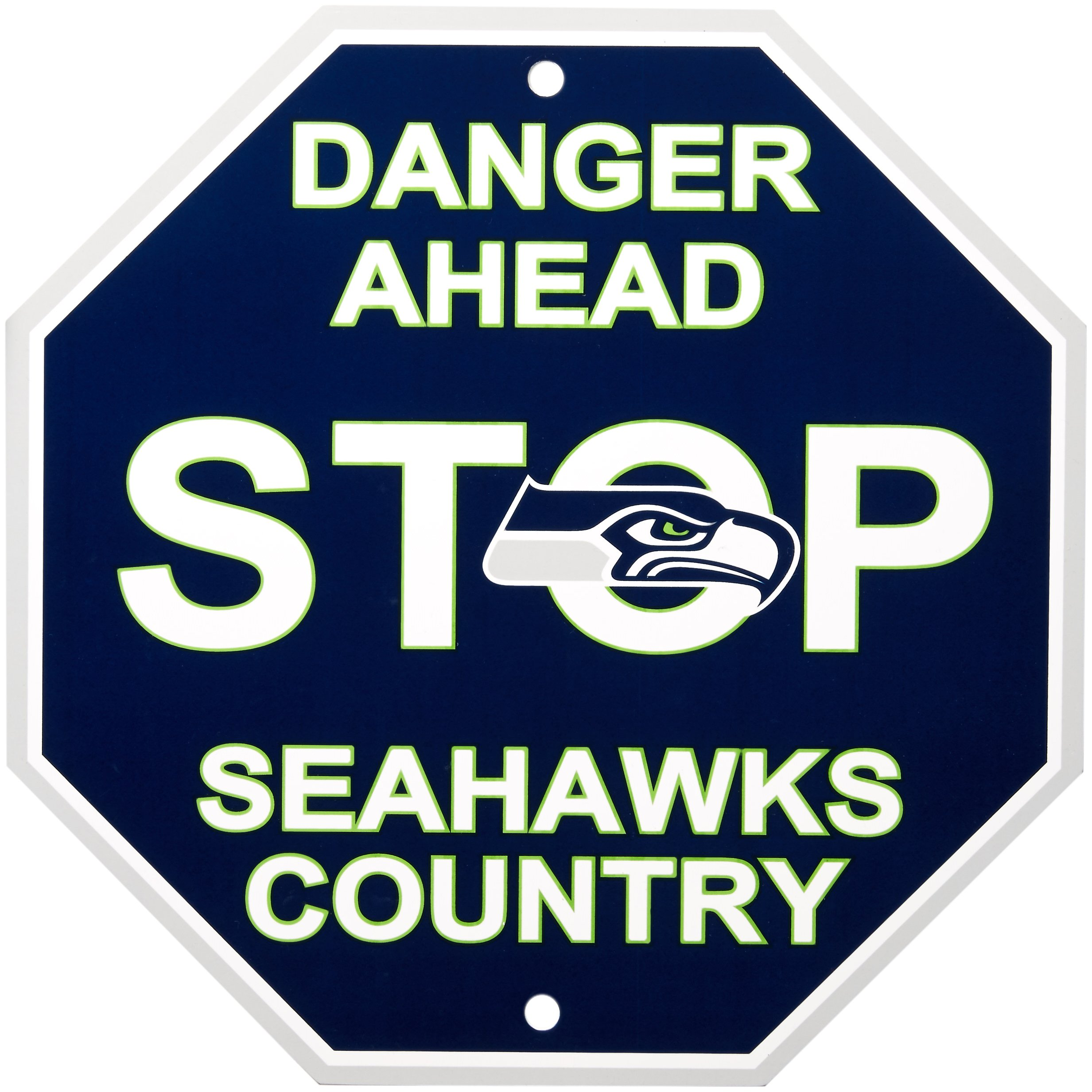 "Fremont Die NFL Seattle Seahawks Stop Sign, 12"" x"