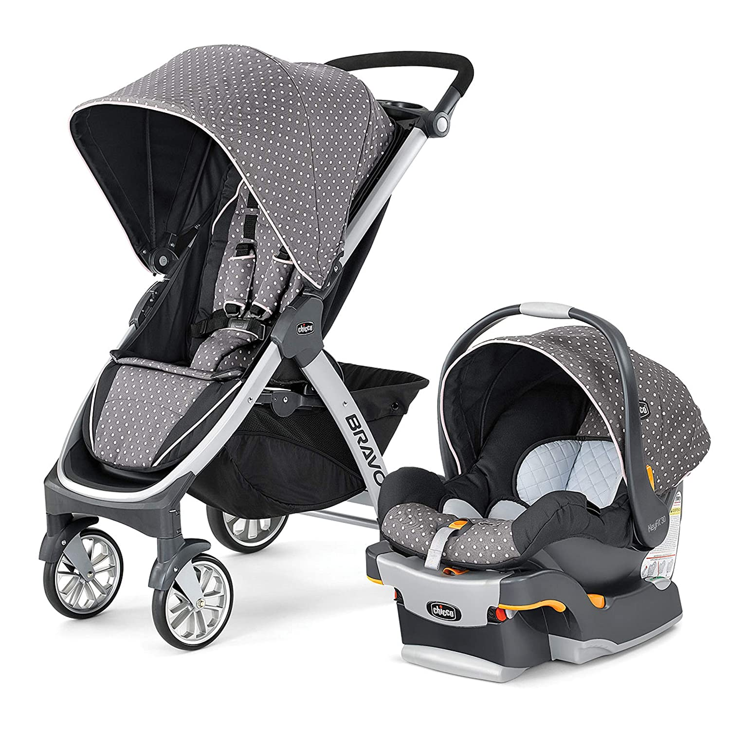 Chicco Bravo Trio Baby Stroller and Car Seat Travel System