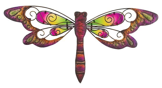 Regal Art & Gift Dragonfly Wall Decor, 8-Inch