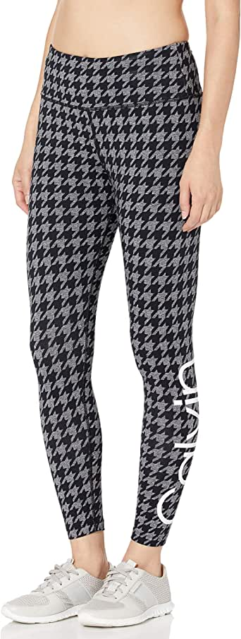 Calvin Klein Women's Houndstooth High Waist 7/8 Legging