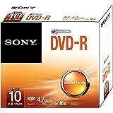 Sony 10DMR47SS - Pack de 10 DVD-R 16x