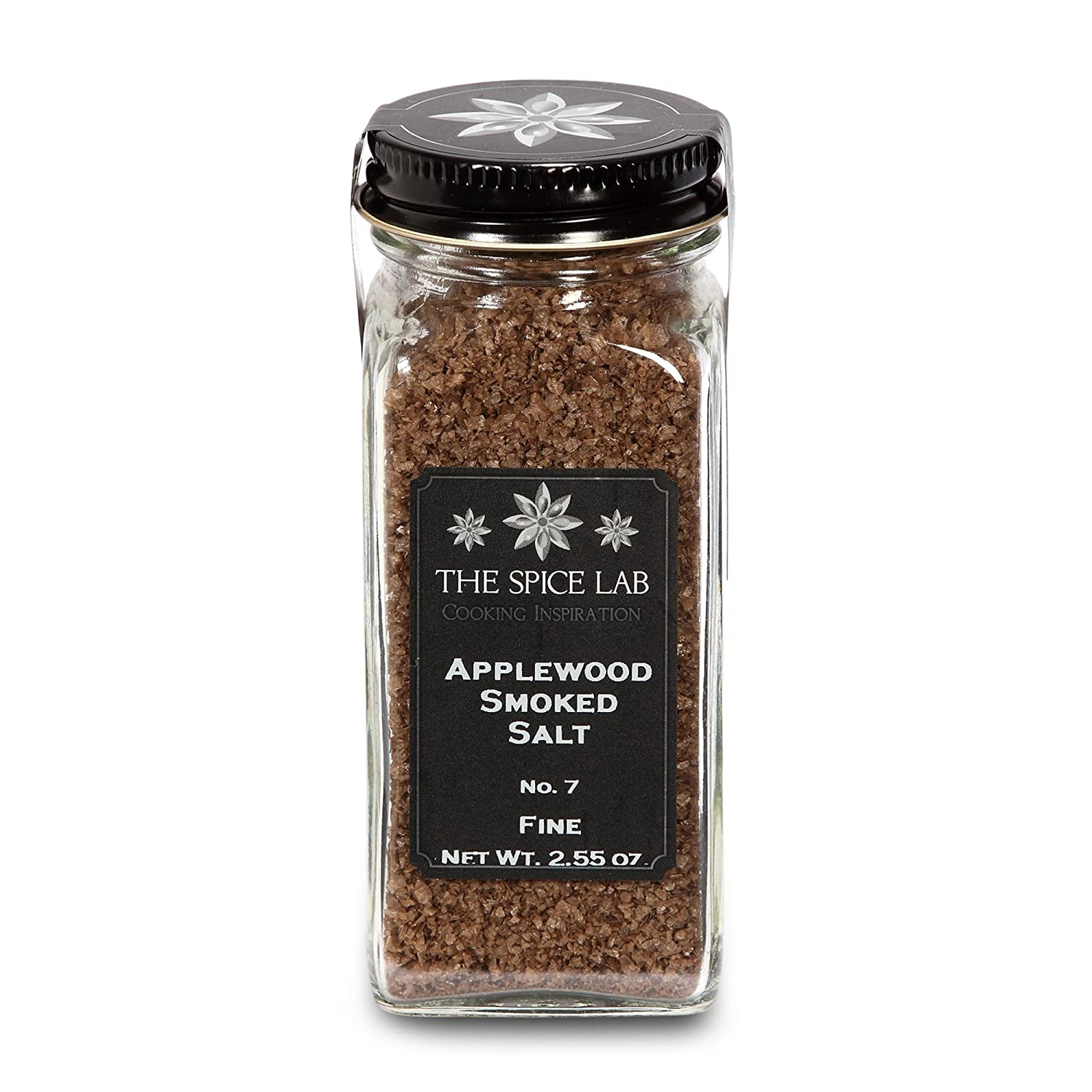 Amazon.com : The Spice Lab Apple Wood Smoked Sea Salt - Great on the BBQ - Apple wood Seasoning Blend - 4 Ounce : Flavored Salts : Grocery & Gourmet Food