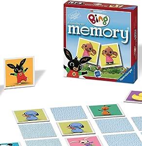 Ravensburger 21247 Bing Bunny Mini Memory: Bing: Amazon.es: Juguetes y juegos