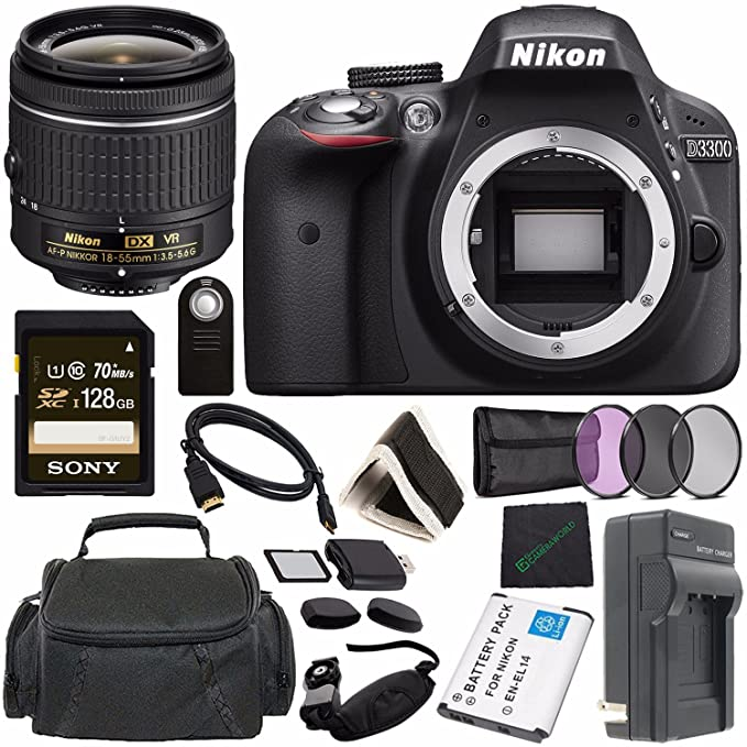 Review Nikon D3300 DSLR Camera
