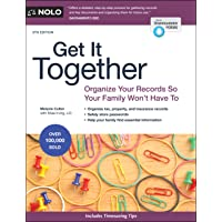 Image for Get It Together: Organize Your Records So Your Family Won't Have To