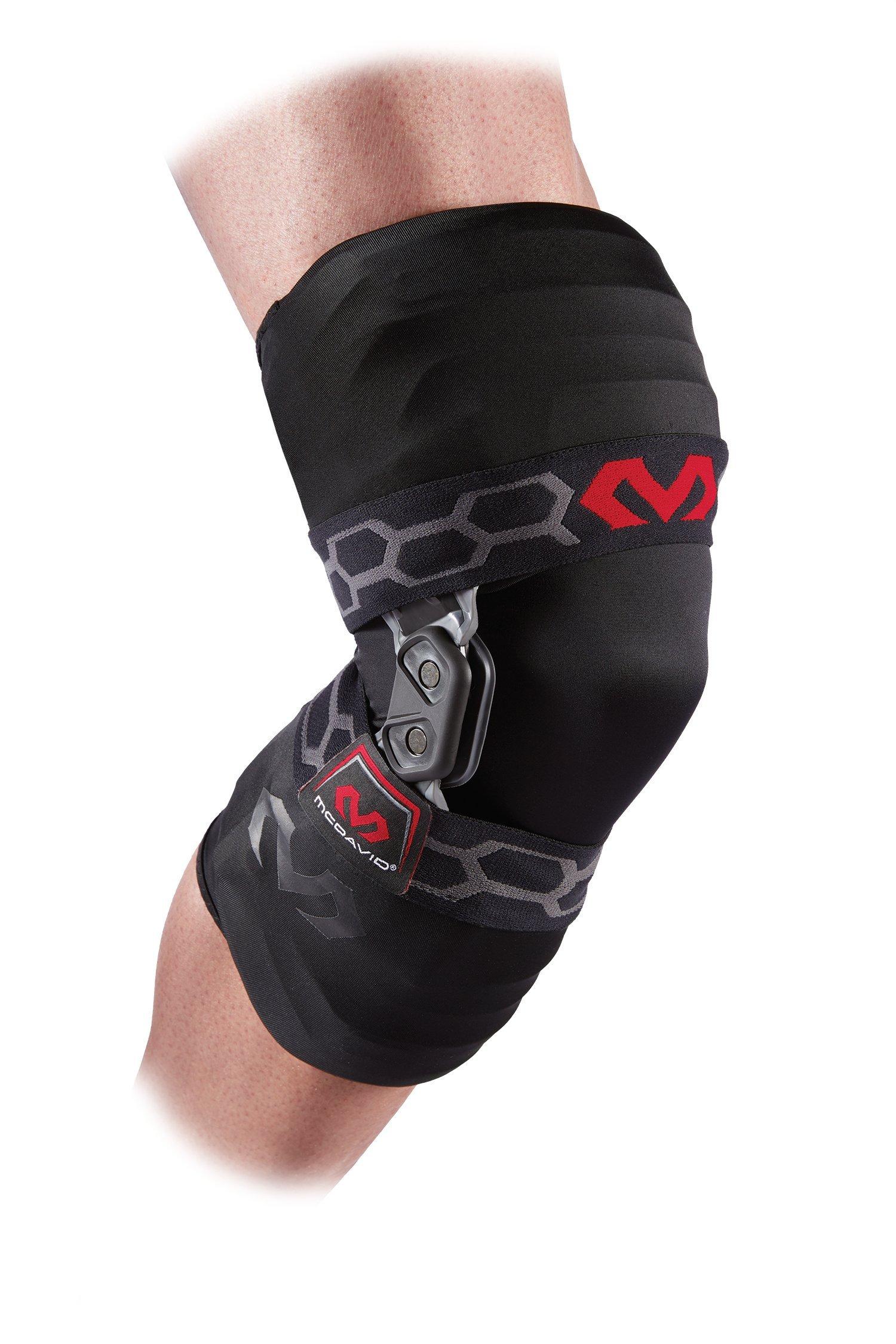 McDavid Bio-Logix Knee Brace, Black, Medium, Left