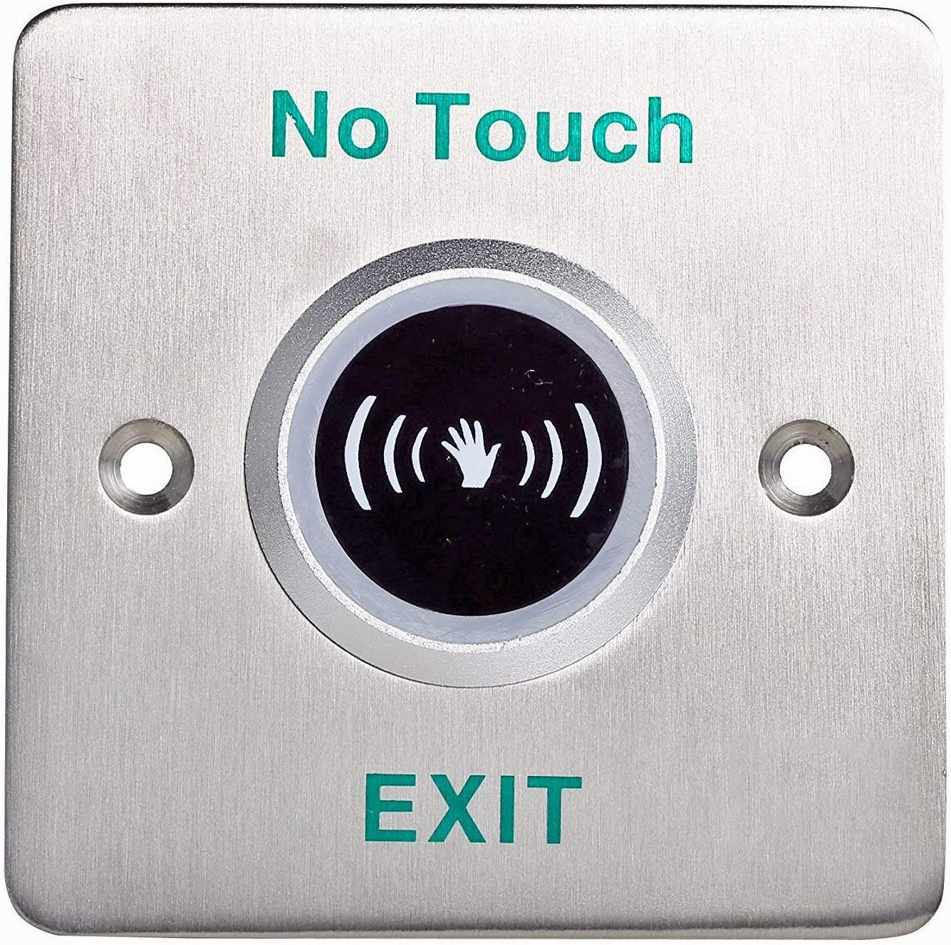 No Touch Infrared Sensor Exit Button Door Release Buttons Switch No/nc/com  Camera & Photo