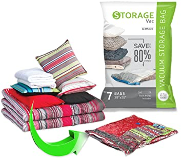 Amazon.com: Bolsas de almacenamiento al vacío ...