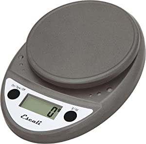 Escali Primo P115M Digital Kitchen Food Scale-Metallic