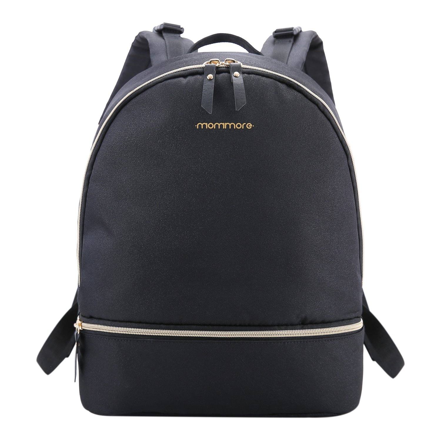 c5fff3b36d37e Amazon.com : mommore Diaper Backpack Fashion Diaper Bag with Changing Pad  for Baby Care, Black : Baby