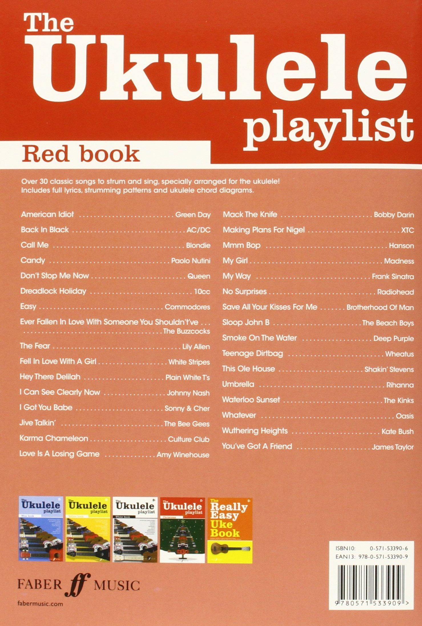 The red book ukulele playlist the ukulele playlist amazon the red book ukulele playlist the ukulele playlist amazon collectif 9780571533909 books hexwebz Choice Image
