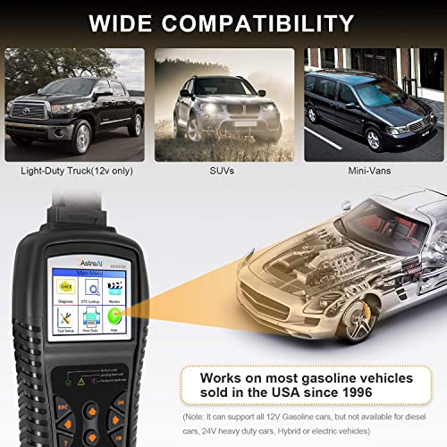 A reasonably priced OBD2 scanner, the AstroAI OS720 is compatible with most OBD2-compliant vehicles