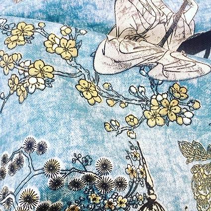 Amazon Com Geisha Japanese Pagoda Oriental Twill Floral Curtain