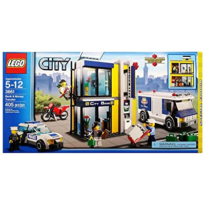 LEGO City Special Edition Set #3661 Bank Money Transfer: Toys & Games