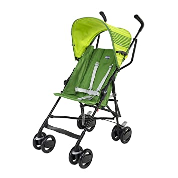 Chicco Poussette Canne Snappy Vert: Amazon.