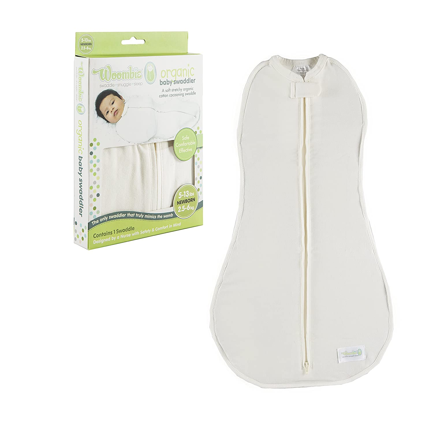The Woombie Organic Swaddle Blanket