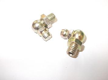 Innovo 2 x M6 x 1 mm 90 Angled Grasa pezones hidráulicos ...