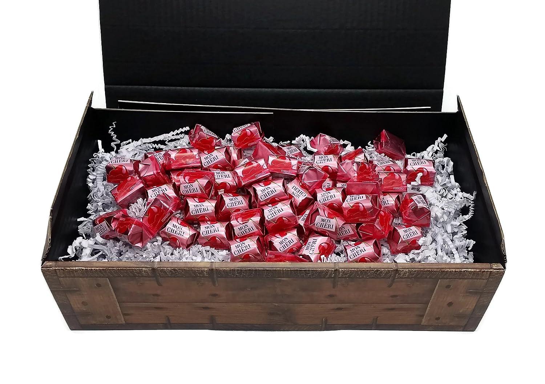 Ferrero Mon Cherie Geschenk Schatztruhe Mit 60 Pralinen Die Kleine Kostbarkeit Für Ihre Liebsten Perfekt Zum Verschenken Oder Auch Als Dekoration Lebensmittel Getränke
