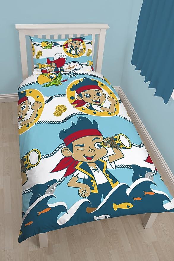 Disney Character World Jake and TNP Sharks Single Bettwäsche Set