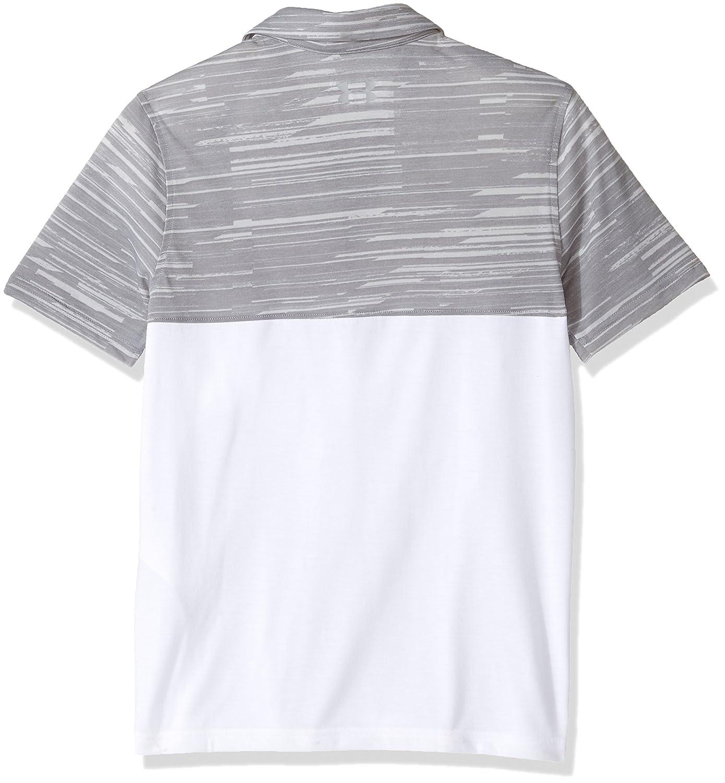 fa11bd011 Under Armour Boys Performance Blocked Polo Shirt Under Armour Apparel Boys  Sports & Outdoors