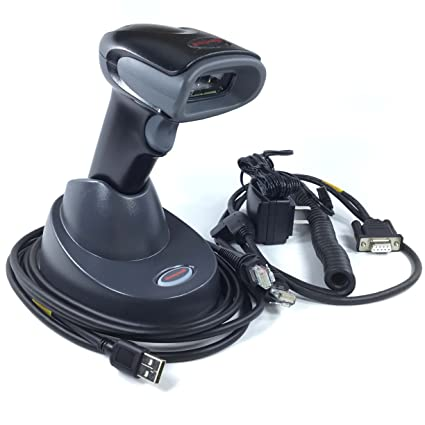Honeywell Voyager 1452g 2D Wireless Area-Imaging Scanner Kit (1D, PDF417,  and 2D), Includes Cradle, Power Supply, RS232 Cable and USB Cable
