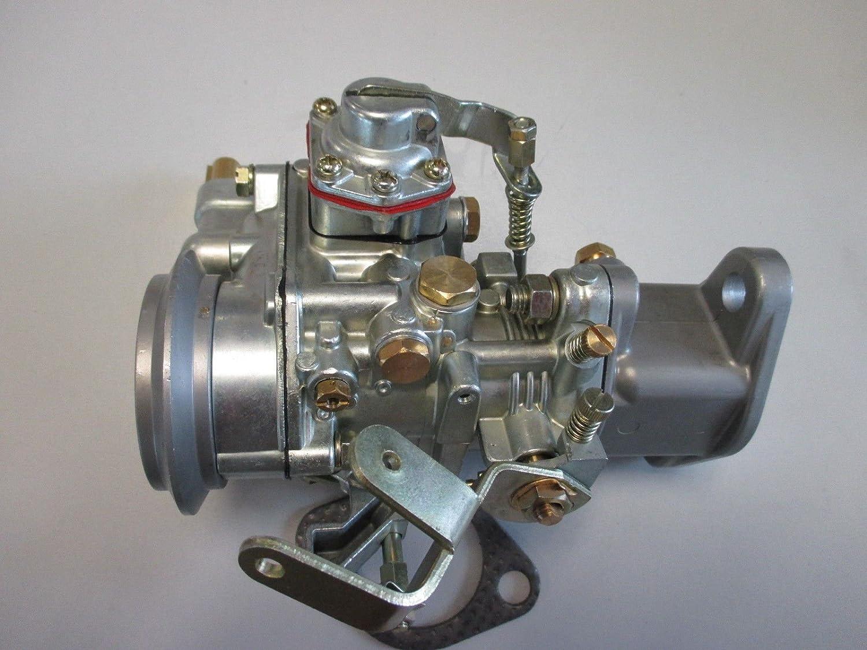 Carburetor Carb Fit For Willys Jeep Solex Design 134 F Head Engine Diagram Civilian Cj3b Cj5 Cj6 Ci 1 Barrel Without Linkage Automotive