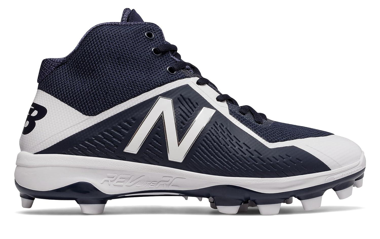 (ニューバランス) New Balance 靴シューズ メンズ野球 Mid-Cut TPU 4040v4 Navy with White ネイビー ホワイト US 12 (30cm) B075893XMY