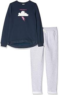 ZIPPY Set Jogging Fleece L Grey Mge Surv/êtement B/éb/é gar/çon