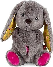 B. toys by Battat – Happy Hues – Sprinkle Bunny – Huggable Stuffed Animal Rabbit Toy – Soft & Cuddly Plush Bunny – Washable
