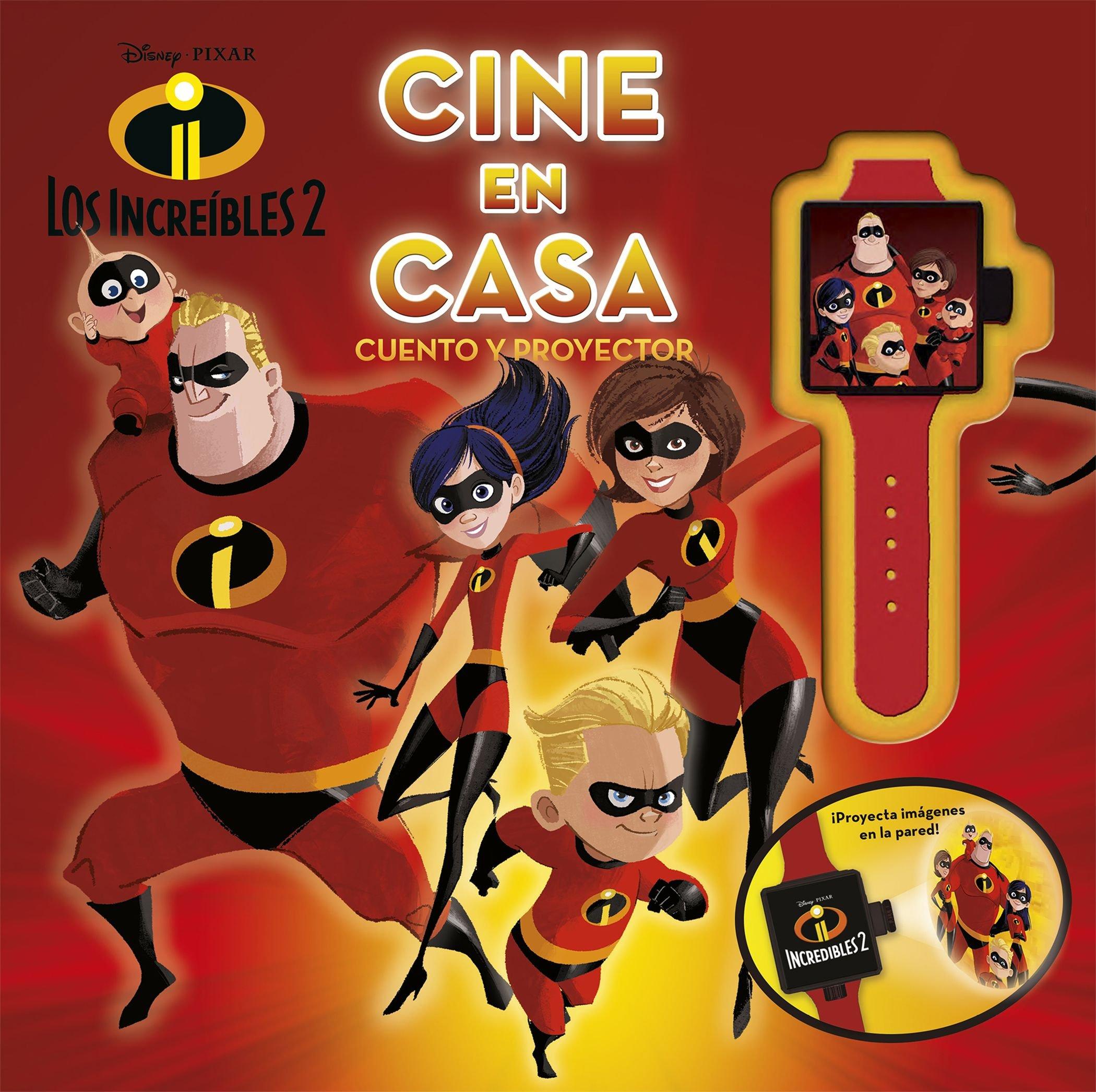 Los increíbles 2. Cine en casa: Cuento y proyector Disney. Los ...