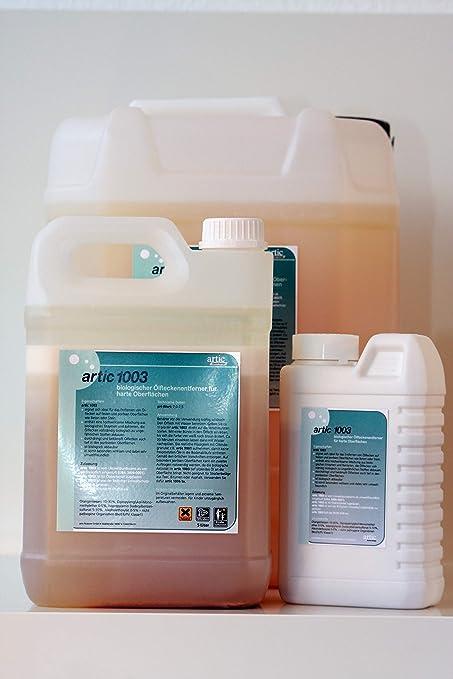 Limpiador aceite quitamanchas de biodegradable con los microbios, Artic 1003 para piedra, hormigón,