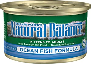 Natural Balance Ultra Premium Wet Cat Food, 24 Cans