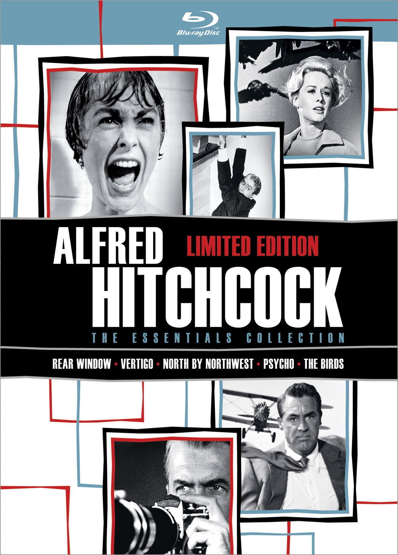 Alfred Hitchcock: The Essentials Collection [Blu-ray] by UNI DIST CORP. (MCA)