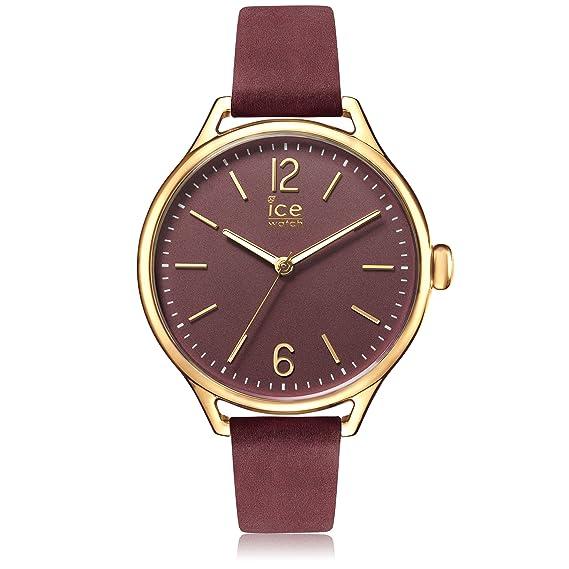 Ice-Watch - ICE time Red Champagne - Reloj rosso para Mujer con Correa de
