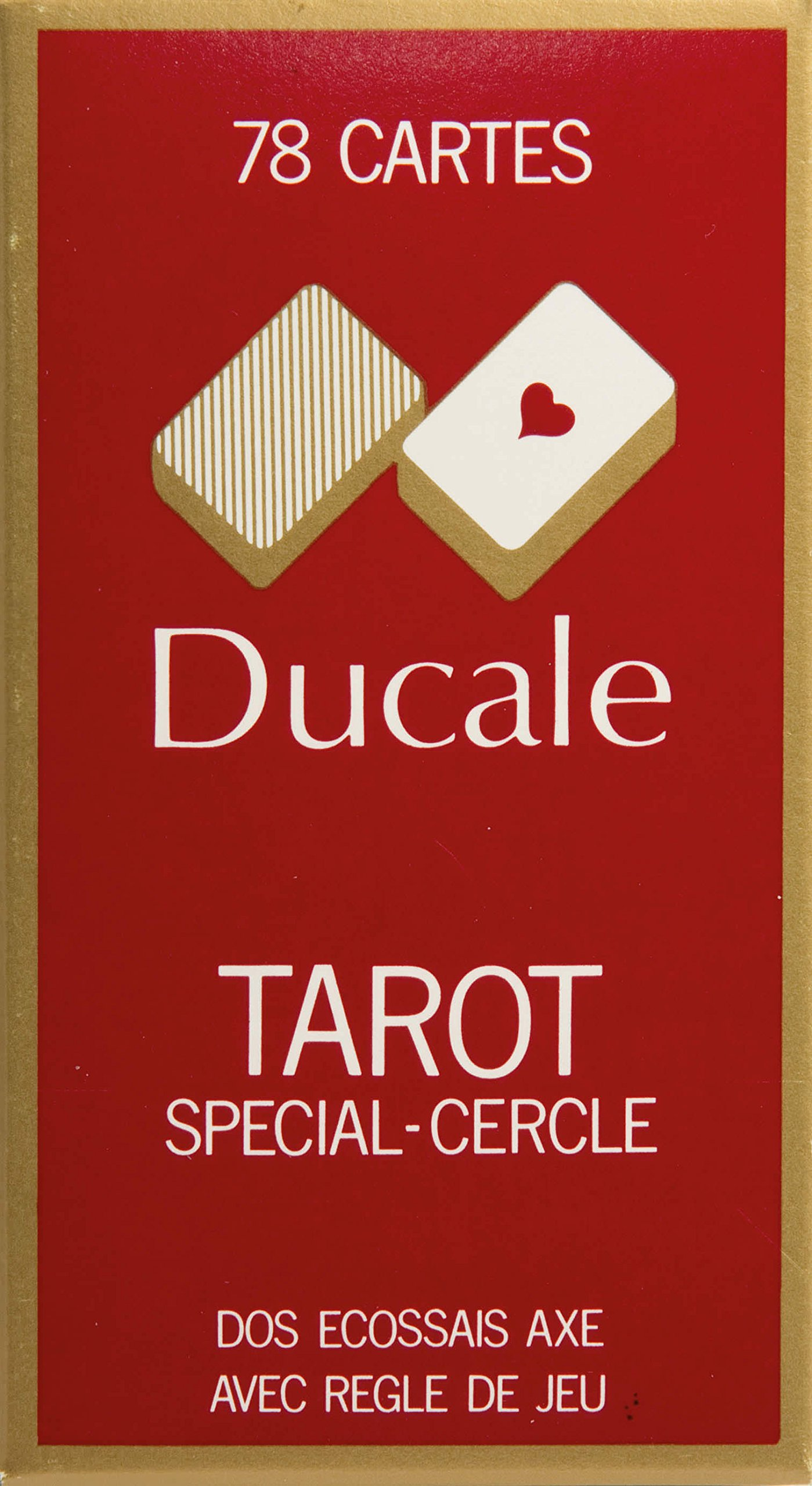 FRANCE CARTES-404680-Card Game-Tarot 78Cards Ducale by FRANCE CARTES (Image #1)