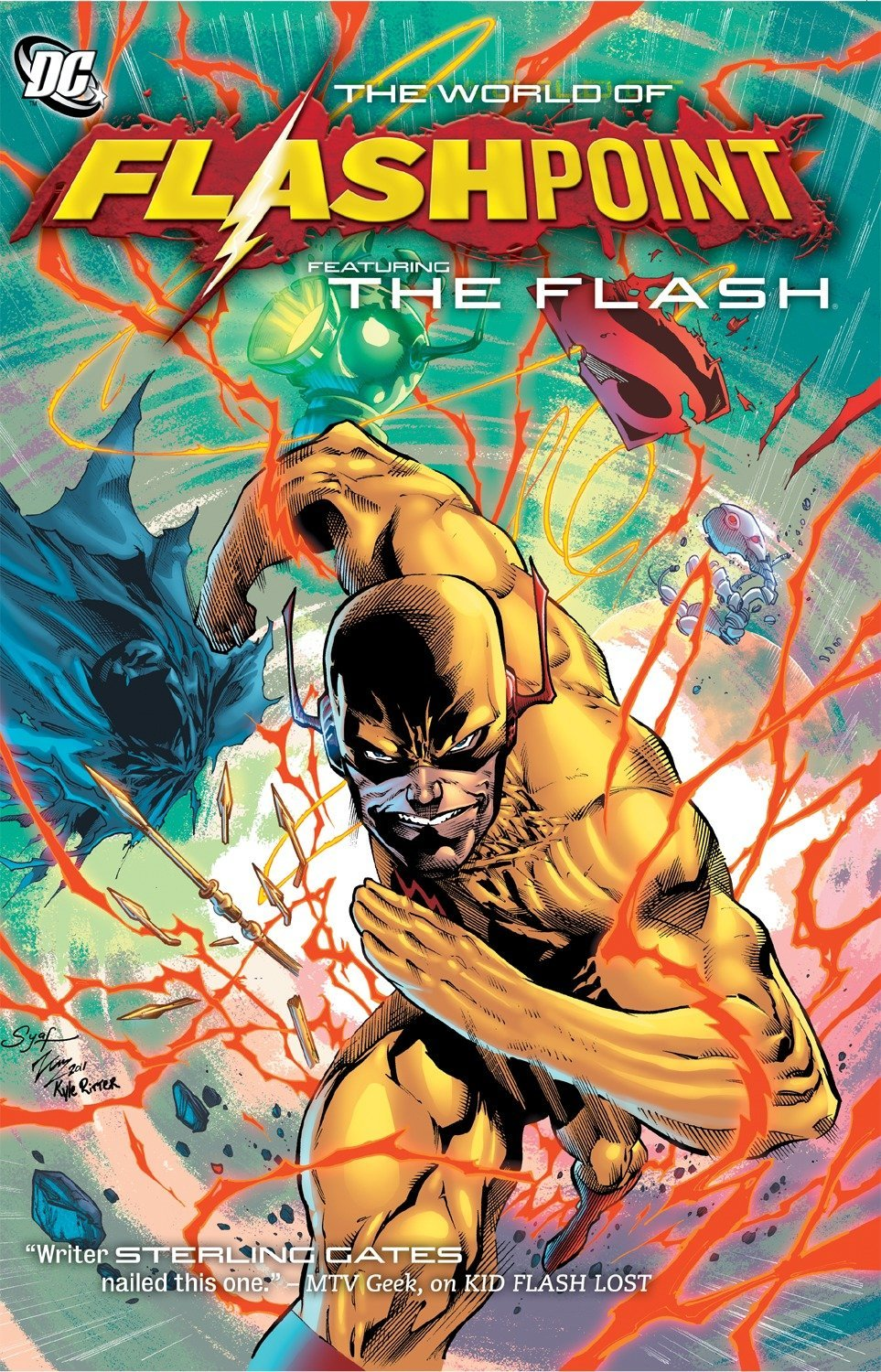 Amazon com: Flashpoint: The World of Flashpoint Featuring The Flash