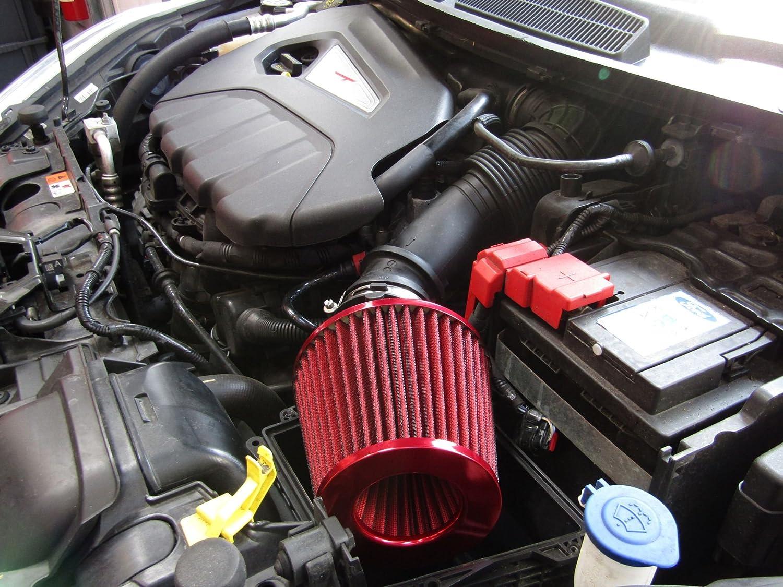 Filtro de aire de inducción cónico XtremeAuto, compatibilidad universal: Amazon.es: Coche y moto