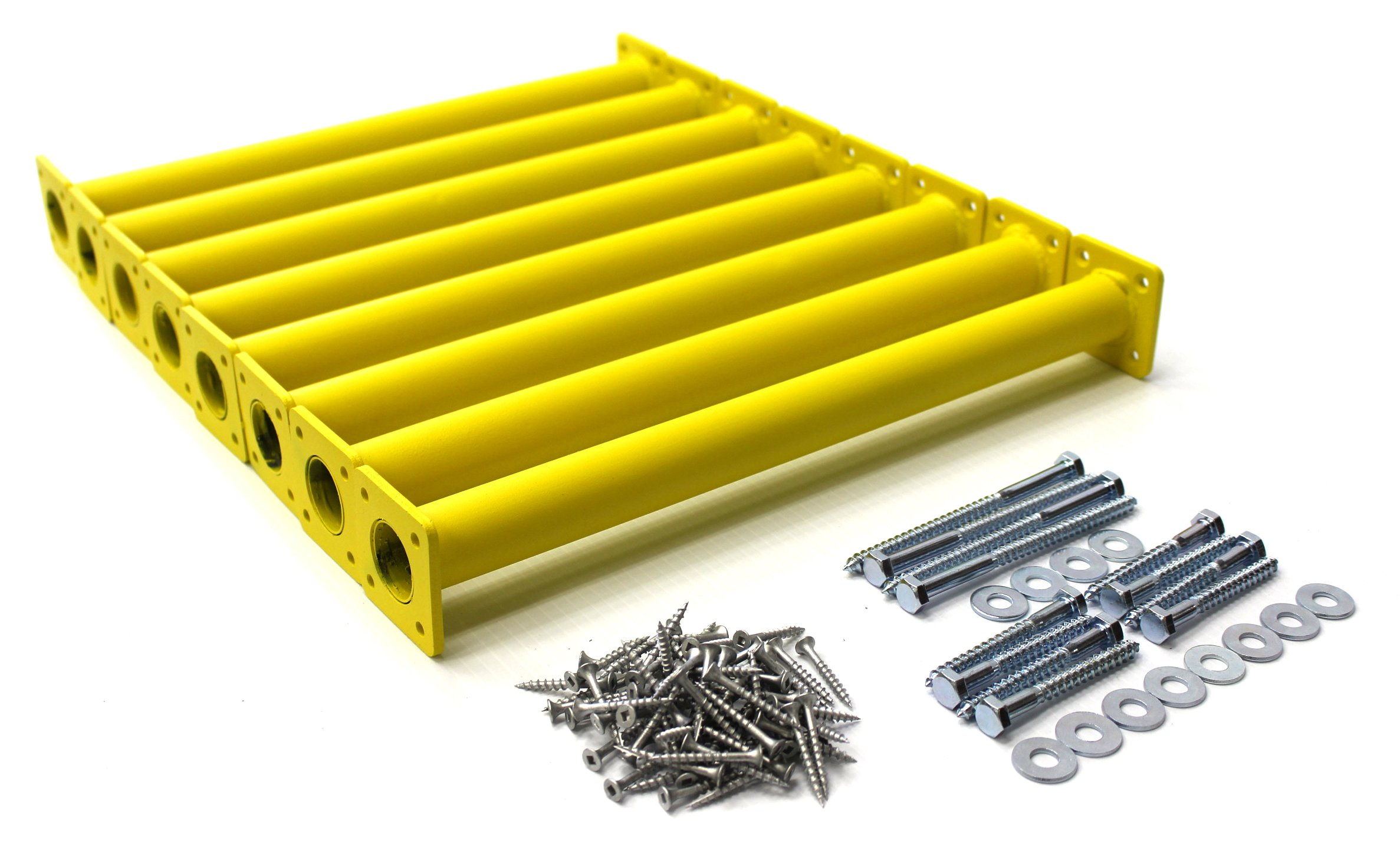 Eastern Jungle Gym Steel 15-1/8'' Monkey Bars Ladder Rungs Hardware Kit Complete with Mounting Hardware and Instructions