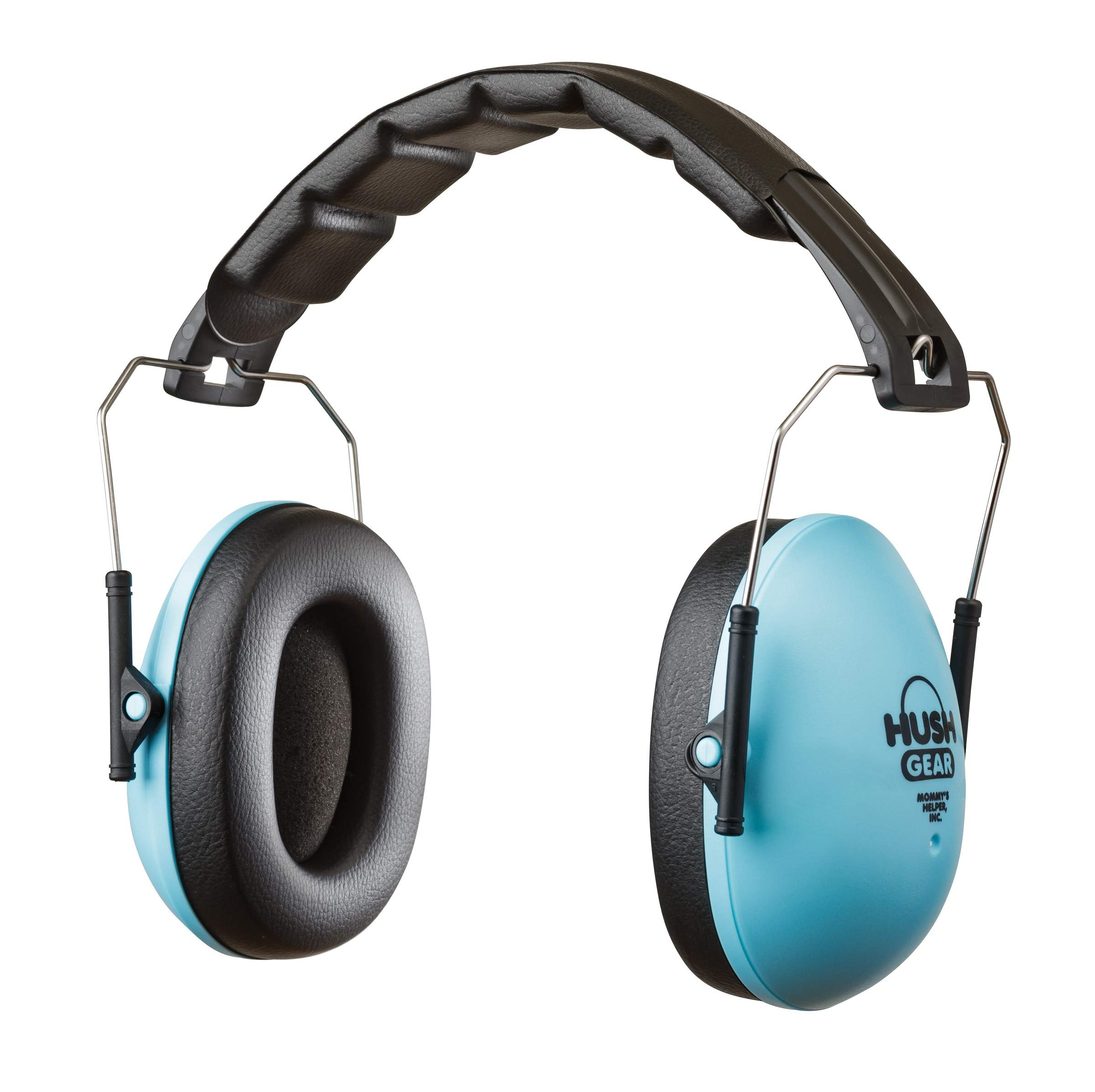 Hush Gear Noise Cancelling Headphones for Kids Ear Protection Earmuffs - 28.6dB Noise Reduction for Toddler Ear Protection - Adjustable, Padded, Comfortable Fit Earmuffs for Kids, Blue