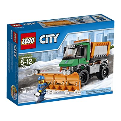 LEGO City 60083 Snowplow Truck: Toys & Games