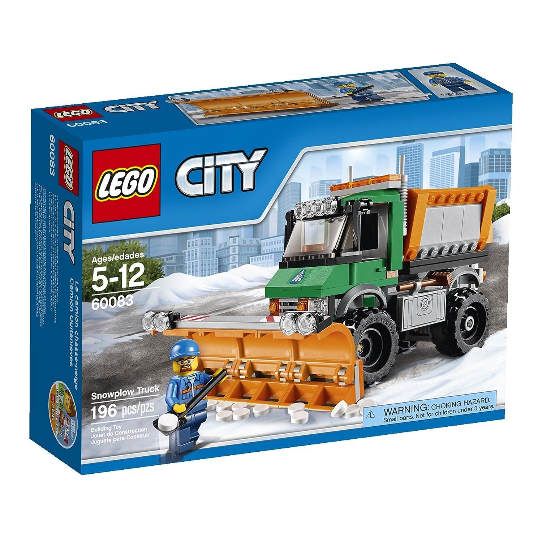 Amazoncom Lego City 60083 Snowplow Truck Toys Games