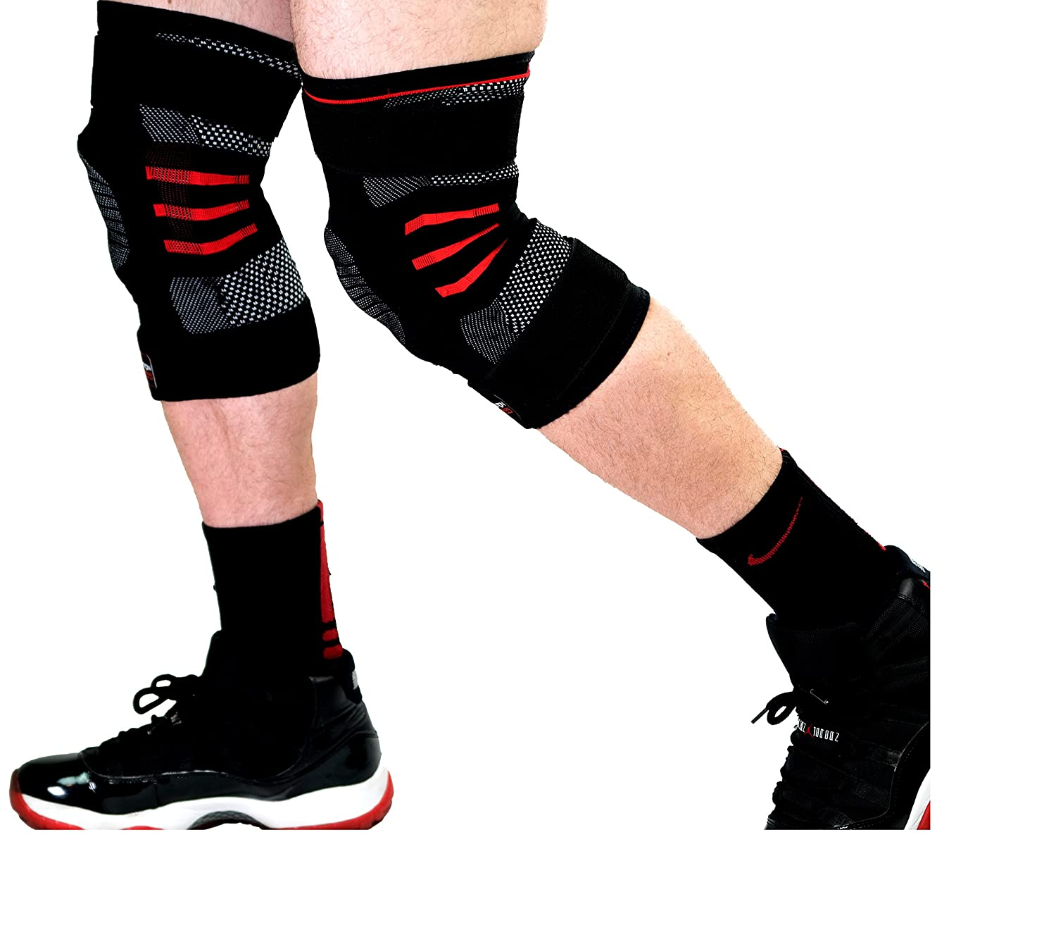Accessories to Help Perfect Your Squats - Dark Iron Fitness Knee Sleeves