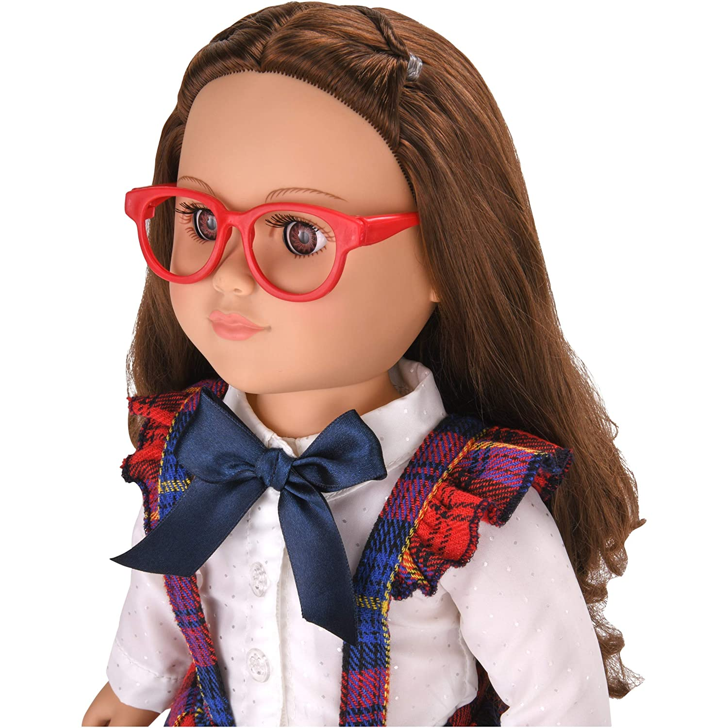 myLife Brand Products My Life As Poseable School Girl Doll Brunette